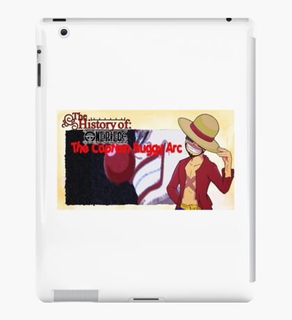 History Of One Piece: Captain Buggy Arc iPad Case/Skin