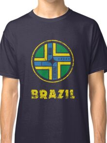 Brazil National Colours Classic T-Shirt
