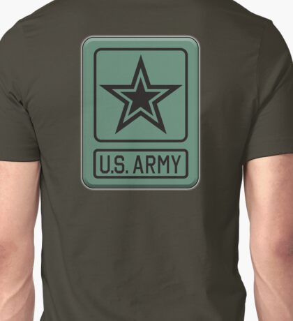 US ARMY, Badge, United States, America, American, US, USA, Shoulder Sleeve, Insignia, Headquarters,  Unisex T-Shirt