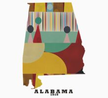 Alabama state map Kids Clothes