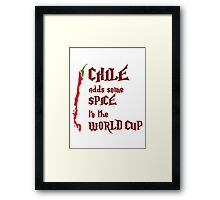 Chile Adds Spice Framed Print