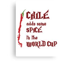 Chile Adds Spice Canvas Print