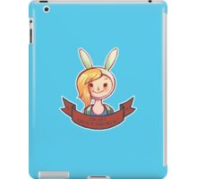 Im all about swords !  iPad Case/Skin
