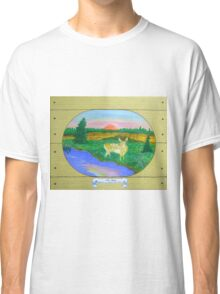The Fawn , at Sunrise, Sunset Classic T-Shirt