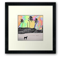 Beach Peace Framed Print
