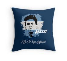 ARGENTINA LIONEL MESSI WC 14 FOOTBALL T-SHIRT Throw Pillow
