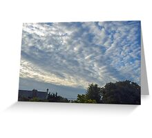 Early Morning Sky........... Greeting Card