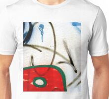 Abtag weighted red Unisex T-Shirt