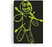 Sackman - Ouch (Green) Canvas Print