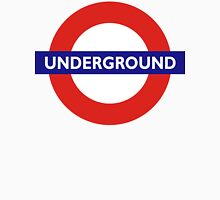 UNDERGROUND, TUBE, LONDON, ENGLAND, BRITISH, BRITAIN, UK Unisex T-Shirt