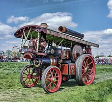 "Showmans Steam Engine ""Lord Nelson"" by Avril Harris"