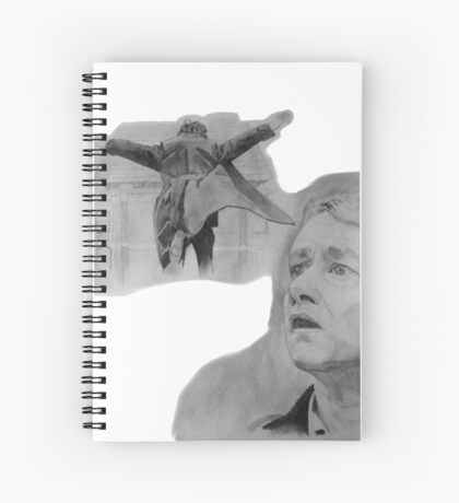The Reichenbach Fall Spiral Notebook