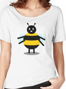 funny friendly bumble bee Women's Relaxed Fit T-Shirt