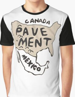 Pavement North America Indi grunge band mens ladies Graphic T-Shirt