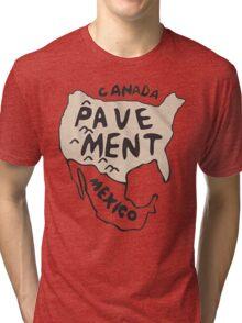 Pavement North America Indi grunge band mens ladies Tri-blend T-Shirt