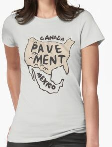 Pavement North America Indi grunge band mens ladies Womens Fitted T-Shirt