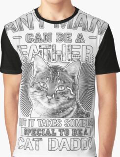 funny t-shirt Cats, Cat Daddy Graphic T-Shirt