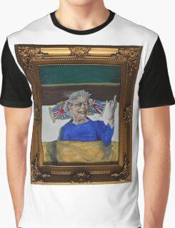 Queenie Flippin' The Bird Graphic T-Shirt