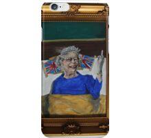 Queenie Flippin' The Bird iPhone Case/Skin