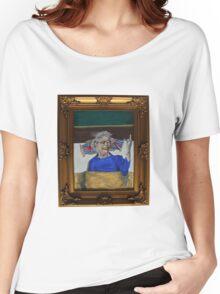 Queenie Flippin' The Bird Women's Relaxed Fit T-Shirt
