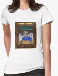 Queenie Flippin' The Bird Womens Fitted T-Shirt