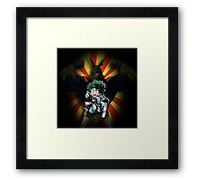 My hero academia  Framed Print