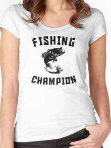 Fishing Champion Women's Fitted Scoop T-Shirt