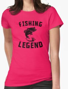Fishing Legend Womens Fitted T-Shirt