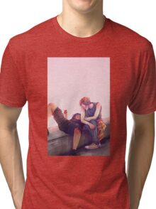 Pink Tri-blend T-Shirt