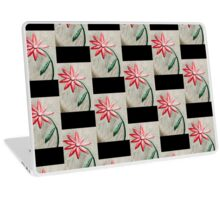 Midnight Flower Laptop Skin