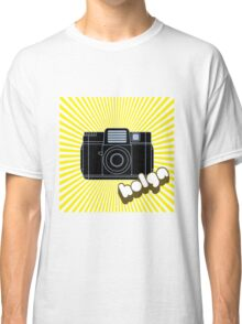 Holga Camera with Yellow Rays Classic T-Shirt