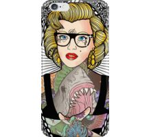 Satanic Monroe iPhone Case/Skin
