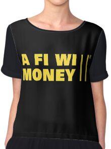 A Fi Wi Money Chiffon Top