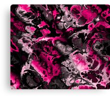 hot pink flame Canvas Print
