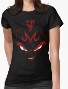 vegeta majin face Womens Fitted T-Shirt
