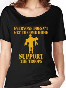 Everyone Doesn't Get To Come Home (Gold print) Women's Relaxed Fit T-Shirt