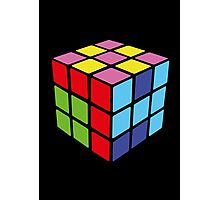 1974 Rubiks Cube Photographic Print