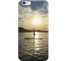 Yoga Sunset iPhone Case/Skin