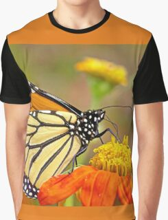 Monarch Of The Flowers Graphic T-Shirt