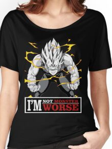 Vegeta monster Women's Relaxed Fit T-Shirt