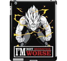 Vegeta monster iPad Case/Skin