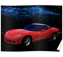 Corvette C-6  2005-2013 Poster