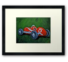 Speed Racer  Framed Print