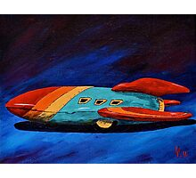 Space Racer Photographic Print
