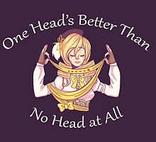 Than No Head At All - Mami Tomoe (Light Text) by sunnycider