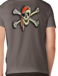 Buccaneers, Jolly Roger, Pirate Party, Pirate, Cap, Skull & Crossbones,  Mens V-Neck T-Shirt