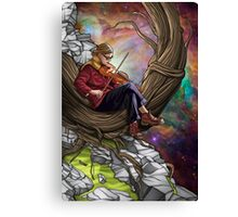 Universal Song Canvas Print