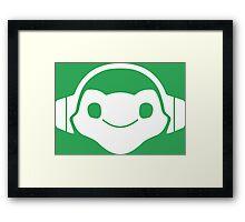 Lucio music Framed Print