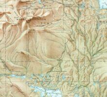 Maine USGS Historical Map Katahdin 460510 1949 62500 Sticker