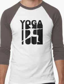 Retro Yoga Men's Baseball ¾ T-Shirt